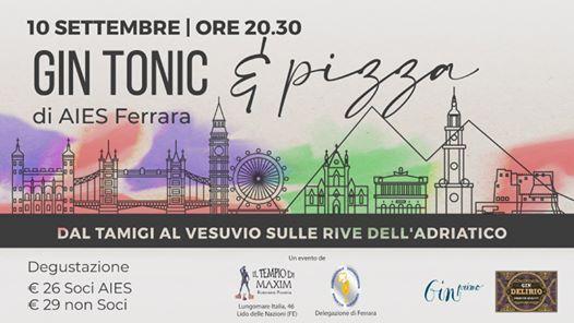 Gin Tonic & Pizza di AIES Ferrara